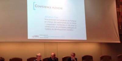 Jonathan Fink accueilli à Bordeaux Métropole par Franck Raynal
