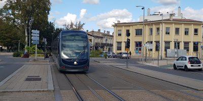 Ligne B du tramway au Forum