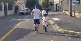 Bilan du plan d'urgence vélo: 854 cyclistes relevés en 24h rue Lamartine, 677 rue Pierre Noailles