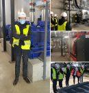 Visite du réseau de chaleur Plaine de Garonne Energies